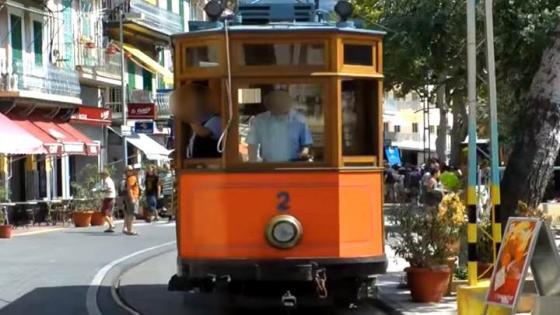 Die Straßenbahn von Soller auf Mallorca